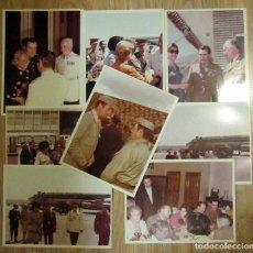 Militaria: FOTOGRAFIAS TEMATICA MILITAR REY EMERITO JUAN CARLOS I DE ESPAÑA. Lote 99389251