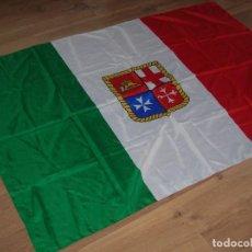Militaria: BANDERA DE ITALIA. MARINA MERCANTE ITALIANA O EMBARCACIONES DE RECREO.. Lote 99524347