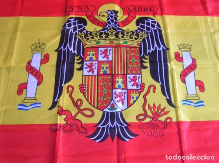 Bandera De España Con Aguila De San Juan Escud Kaufen Militärpropaganda Und Militärische Dokumente In Todocoleccion 99577195