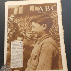 Militaria: ABC DIARIO REPUBLICANO DE IZQUIERDAS - 14-MARZO-1937- GUERRA CIVIL. Lote 99728447