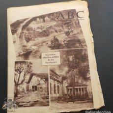 Militaria: ABC DIARIO REPUBLICANO DE IZQUIERDAS - 29-ABRIL-1937- GUERRA CIVIL. Lote 99728779