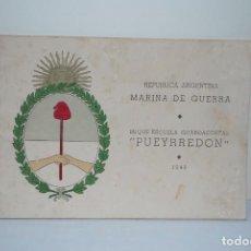 Militaria: MARINA DE GUERRA ARGENTINA 1948. Lote 99987879