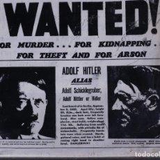 WANTED! ADOLF HITLER, THE DAILY MIRROR 1939  REEDICIÓN 1979
