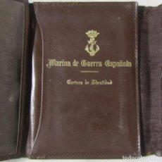 Militaria: CARTERA DE IDENTIDAD MARINA DE GUERRA ESPAÑOLA. Lote 102107059