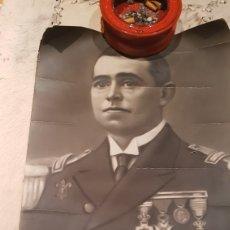 Militaria: FOTO DE LA GUERRA DE CUBA MILITAR MARINO ESPAÑOL. Lote 102970414