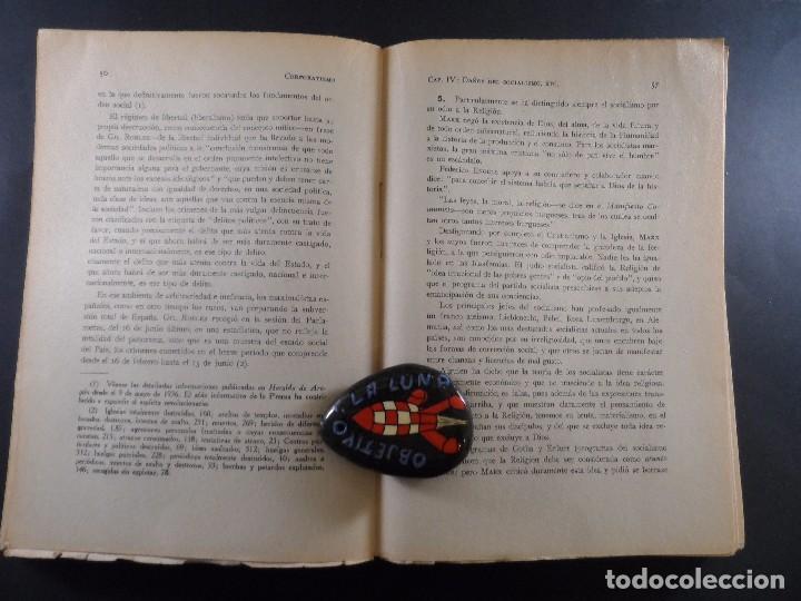 Militaria: CORPORATISMO. M, SANCHO IZQUIERDO....ETC,EDITORIAL IMPERIO. ZARAGOZA- GRANADA 1937 - Foto 3 - 103708995