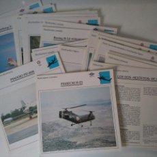 Militaria: LÁMINAS AVIONES DE GUERRA - PLANETA DEAGOSTINI. Lote 103782027