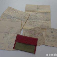 Militaria: * LOTE DE DOCUMENTOS DEL TERCIO DUQUE DE ALBA DE LA LEGION, AÑOS 40. DEL MISMO SOLDADO. ZX. Lote 104965695