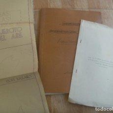 Militaria: AVIACION : PROYECTO ORGANIZACION SERVICIO COMUNICACION EJERCITO DEL AIRE DEL JEFE AV. NACIONAL 1939. Lote 105982287