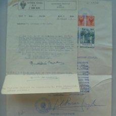 Militaria: CAPITANIA GENERAL 2ª REGION: COMUNICACION ASCENSO A TENIENTE CORONEL DE CABALLERIA. SEVILLA, 1962. Lote 108245063