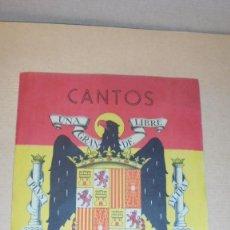Militaria: CANTOS PATRIOTICOS , - 4 PAG. - 18,5X14 CM. . Lote 109480211