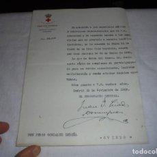 Militaria: CRUZ ROJA ESPAÑOLA MADRID CONCESION PLACA E 2ª CLASE DE LA CRUZ ROJA ESPAÑOLA CREADA EN 1925 . Lote 111106207