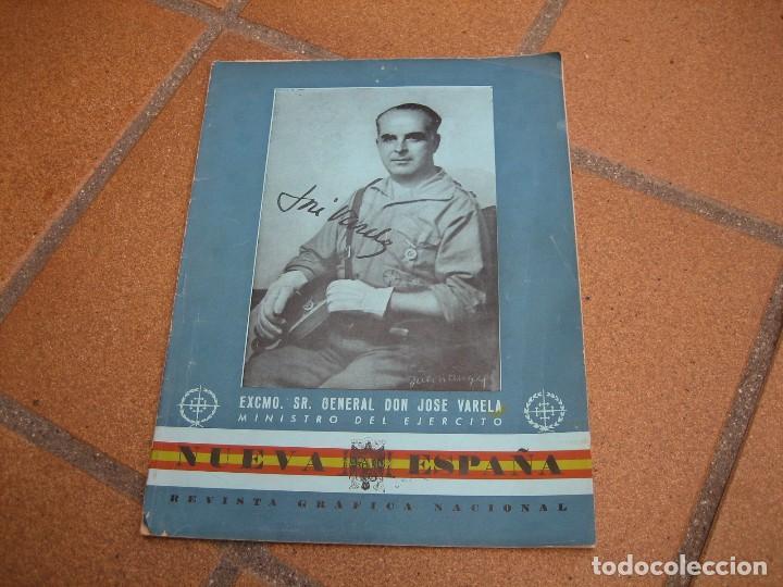 REVISTA ESPECIAL GENERAL VARELA. NUEVA ESPAÑA (Militar - Propaganda y Documentos)