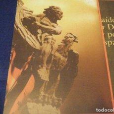 Militaria: ESPECIALES RECIBOS DE LOTERÍA. DOS TRÍPTICOS CON ALEGORÍAS FRANCO-JOSÉ ANTONIO.. Lote 111635627