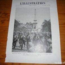Militaria: REVOLUCION MILITAR EN PORTUGAL. FOTO DE LA REVISTA L´ILLUSTRATION JUNIO 1926. 38 X 28 CM. Lote 111772743