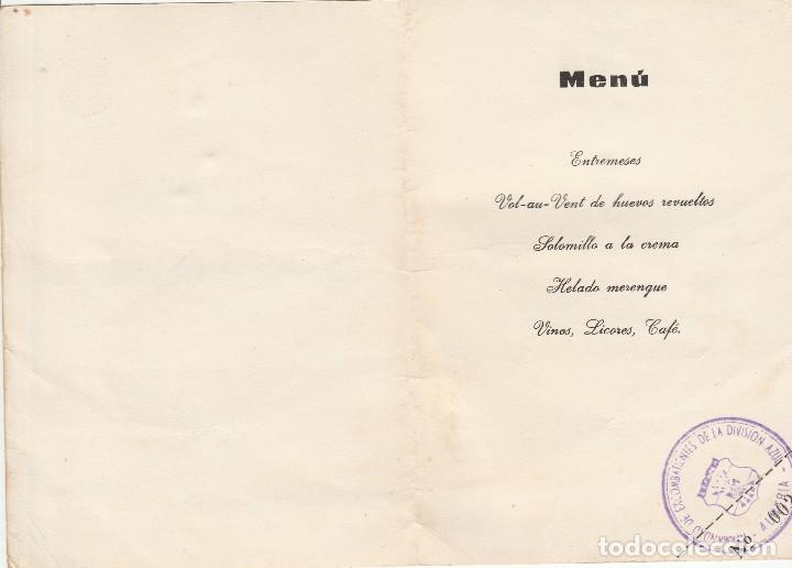 Militaria: ALMERIA-HERMANDAD DE COMBATIENTES DE LA DIVISION AZUL DE ALMERIA-12 DE ABRIL DE 1970 - Foto 2 - 112934559