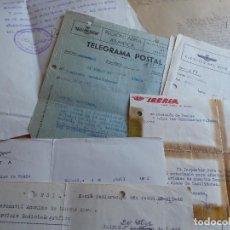 Militaria: LOTE DE PAPELES RADIOGONIOMETRISTA. 52 GRUPO HIDROS EJÉRCITO DEL AIRE. Lote 113122623