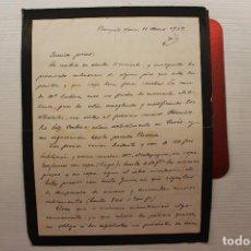 Militaria: CORRESPONDENCIA GUERRA CIVIL, MARZO 1939. Lote 113153363