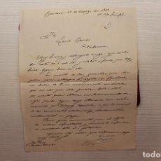 Militaria: CORRESPONDENCIA GUERRA CIVIL, MARZO 1939. Lote 113153579