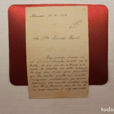 Militaria: CORRESPONDENCIA GUERRA CIVIL, SEPTIEMBRE 1938. Lote 113154039
