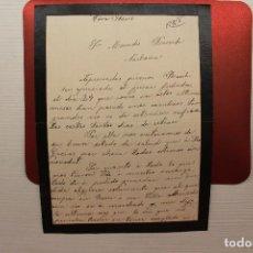 Militaria: CORRESPONDENCIA GUERRA CIVIL, MARZO 1939. Lote 113154215