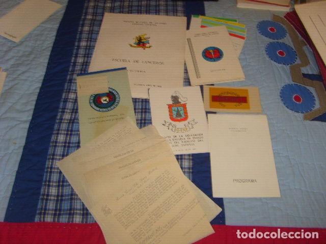 CARPETA PROPAGANDISTA DE LA ESCUELA DE LANCEROS DE COLOMBIA , EJERCITO NACIONAL (Militar - Propaganda y Documentos)