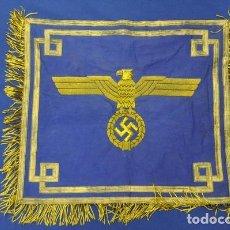 Militaria: ALEMANIA III REICH. ESTANDARTE O BANDERA PARA TROMPETA DE LA KRIEGSMARINE. 51 X 45 CM.. Lote 113843075