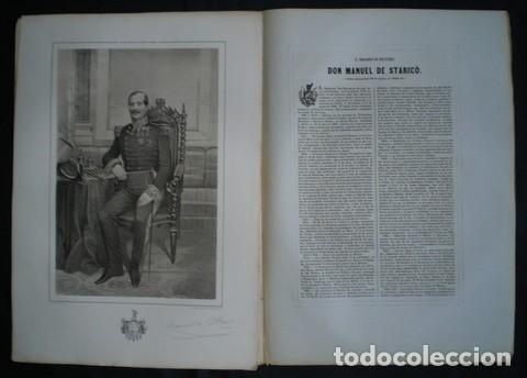 EL BRIGADIER DE INFANTERIA DON MANUEL DE STARICO (NACIDO EN CARTAGENA EN 1795). (Militar - Propaganda y Documentos)