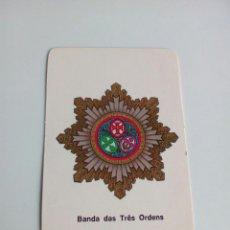 Militaria: CALENDARIO BANDA DAS TRES ORDENS. Lote 114649390