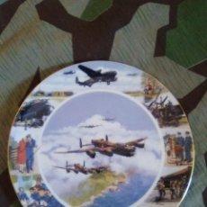 Militaria: PLATO PORCELANA ORIGINAL MUSEO INGLES RAF EDICION NUMERADA Y LIMITADA . Lote 114855159