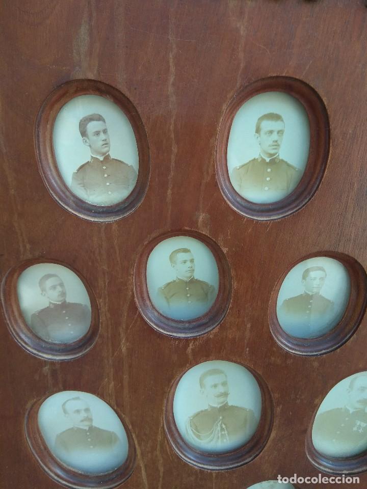 Militaria: Metopa - Orla Madera - Militar Infantería - Convocatoria de Mayo 1898 - Alumnos Ingresados - - Foto 5 - 114920595