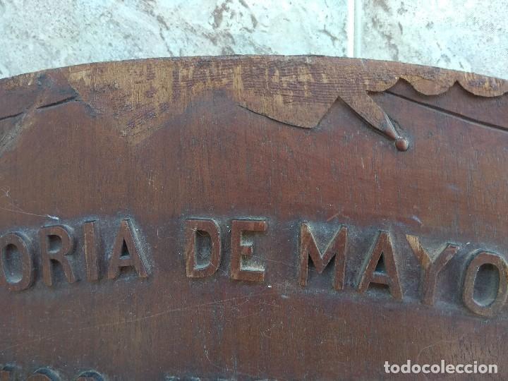 Militaria: Metopa - Orla Madera - Militar Infantería - Convocatoria de Mayo 1898 - Alumnos Ingresados - - Foto 23 - 114920595