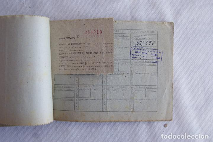 Militaria: MUY RARA MADRE GESTANTE CARTILLA RACIONAMIENTO BUEN ESTADO - Foto 4 - 115202803