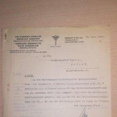 Militaria: DOCUMENTO JURIDICO ALEMAN, EPOCA III REICH, AÑO 1937. Lote 115328003