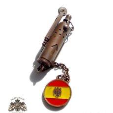 Militaria: MECHERO CHISQUERO PATRIOTICO. Lote 115598243