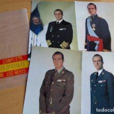 Militaria: FOTOGRAFÍAS REY JUAN CARLOS I. 1976. Lote 116386496
