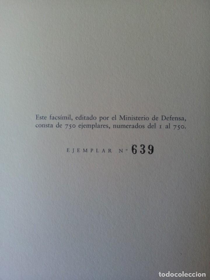 Militaria: LA BANDERA DE ESPAÑA. FACSIMIL DE LA COPIA ORIGINAL DE 1785 + LAMINA HISTORIA Y EVOLUCIÓN - Foto 8 - 116433795