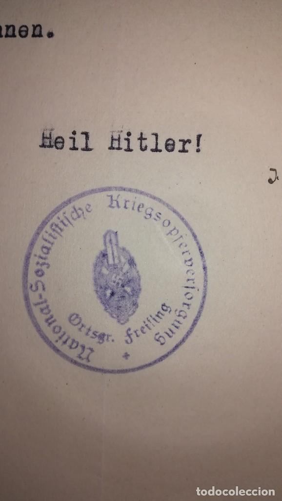 Militaria: DOCUMENTO ALEMAN, EPOCA III REICH. AÑO 1936 - Foto 3 - 116544747