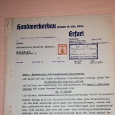 Militaria: DOCUMENTO ALEMAN, EPOCA III REICH. AÑO 1938. Lote 116545279