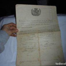 Militaria: MINISTERIO DE LA GUERRA - JUNTA CALIFICADORA DE ASPIRANTES A DESTINOS PUBLICOS AÑO OVIEDO 1924. Lote 116630635