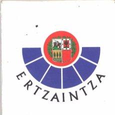 Militaria: ERTZAINTZA. BARAJA DE CARTAS. Lote 173167959