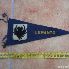 Militaria: BANDERÍN NAVAL, GALLARDETE FIELTRO DESTRUCTOR ARMADA LEPANTO. Lote 116793043