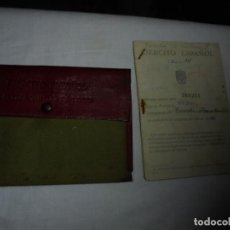 Militaria: CARTILLA MILITAR DE TROPA EJERCITO ESPAÑOL.LENA ASTURIAS 1945. Lote 117157907
