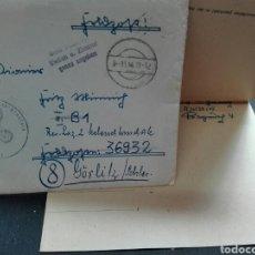 Militaria: CARTA MILITAR ÉPOCA NAZI 1944. Lote 117709883