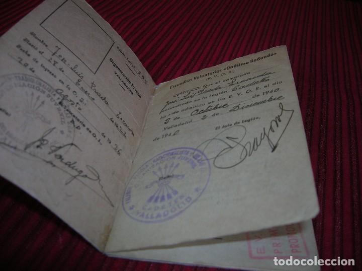 Militaria: Cartilla de Encuadramiento .Escuelas Voluntarias -Onésimo Redondo.Año 1940 - Foto 2 - 118171711