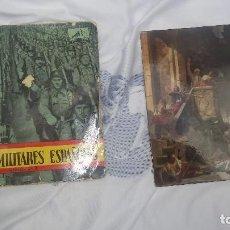 Militaria: DOS VINILOS MARCHAS MILITARES 1958 EN PERFECTO ESTADO. Lote 122291155
