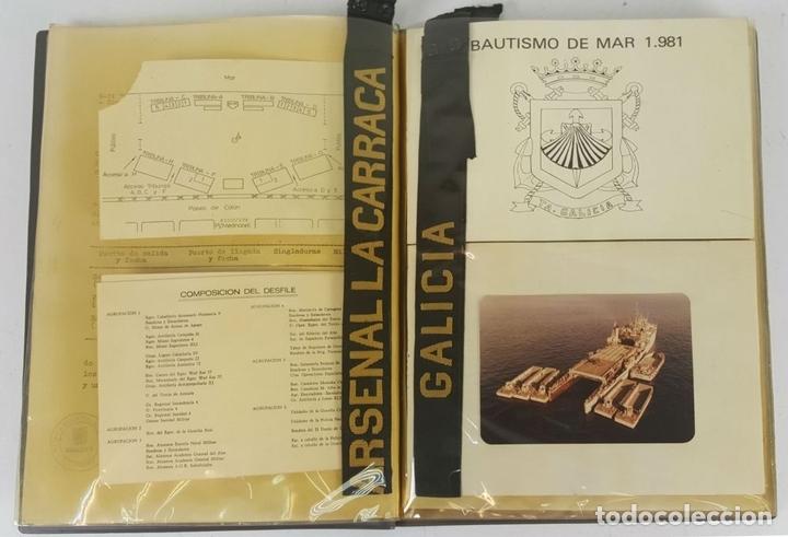 Militaria: COLECCIÓN DE DOCUMENTACIÓN, BANDERINES E INSIGNIAS MILITARES. AÑOS 70/80. - Foto 9 - 123580151