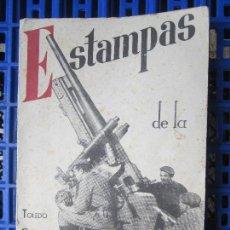 Militaria: ESTAMPAS DE GUERRA, ALBUM.6 TOLEDO CATALUÑA MADRID,SIGUENZA GUADARRAMA ALTO DE LEON SEGOVIA BRUNETE. Lote 124567643