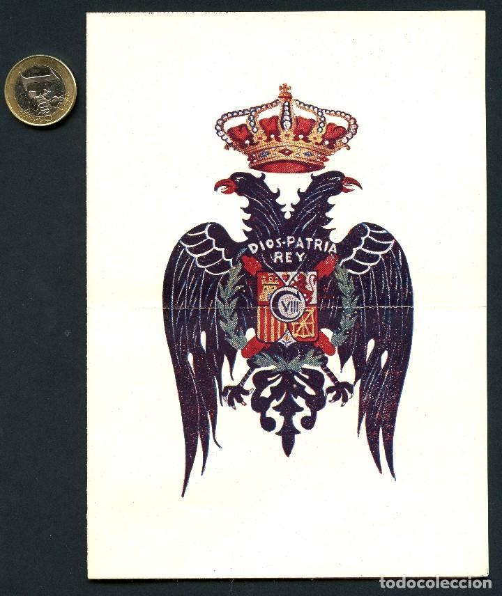 CARLISMO, FOLLETO POLÍTICO, ¿QUIÉN ES CARLOS VIII? (Militar - Propaganda y Documentos)
