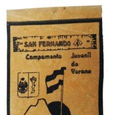 Militaria: BANDERIN CAMPAMENTO JUVENIL,IV REGIÓN MILITAR. Lote 126603619